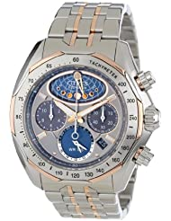 Citizen Mens AV3006-50H The Signature Collection Eco-Drive Moon Phase Flyback Chronograph Watch