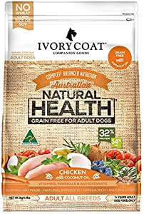 Ivory Coat Adult and Senior Chicken & Coconut 2kg Grain Free Dog Food