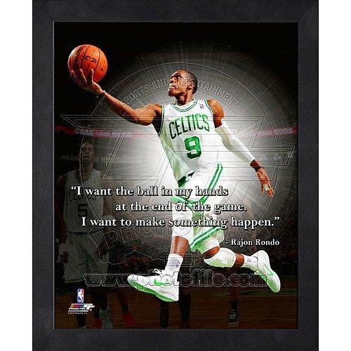 Rajon Rondo Boston Celtics 12X15 Framed Proquote