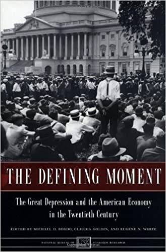 com the defining moment the great depression and the  the defining moment the great depression and the american economy in the twentieth century national bureau of economic research project report 1st