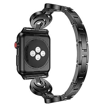 JAKU Apple Watch 38mm & 42 mm Banda de Correa, espumoso iWatch ...