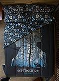 Supernatural Silhouette Symbols Full/Queen Comforter