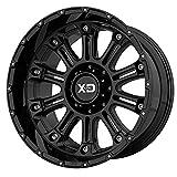 xd series rims 18 - XD Series XD829 Hoss 2 18x9 5x139.7 +18mm Black/Machined/Tint Wheel Rim