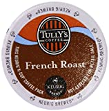Tully's French Roast K-Cup packs for Keurig Brewers, 50 count image