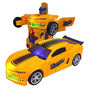 Toyico Robot Car Toy for...