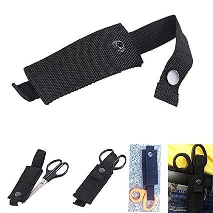 Scissors Clever Ems Flashlight Knife Tool Emt Case Bag Pouch Tactical Medical Fire Shear Molle Scissor Paramedic Holster Attach Emergent Rescue