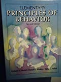 Elementary Principles of Behavior, Malott, Richard W. and Whaley, Donald L., 0132602415