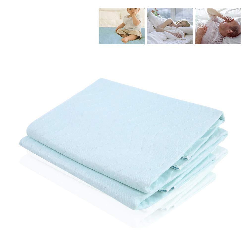 Colchoneta para cama almohadillas de incontinencia lavables y reutilizables con una fuerte absorbencia para personas mayores con incontinencia adultos mayores bebé s Semme