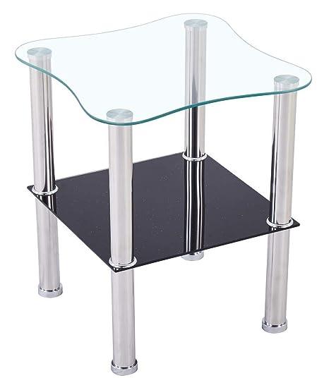 Casaxxl Couchtisch Glas Mit Sicherheitsglas Facettenschliff
