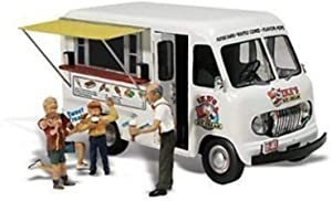 Woodland Scenics Ike's Ice Cream Truck N Scale WOOAS5338