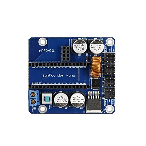SunFounder Servo Control Board Wireless Version for Arduino Arduino Nano and NRF24L01 primary