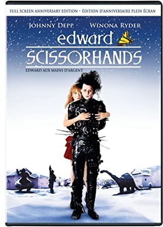 Edward Scissorhands Full Screen Anniversary Edition