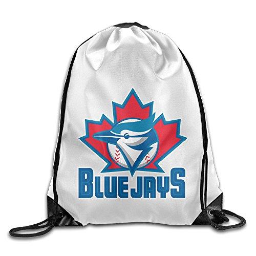 Bekey Toronto Cool Jays Gym Drawstring Backpack Bags For Men & Women For Home Travel Storage Use Gym Traveling Shopping Sport Yoga - John St Shopping Center