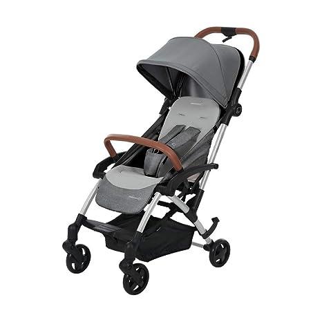 Bébé Confort LAIKA 2 Nomad Grey - Cochecito super urbano, ultracompacto y ligero