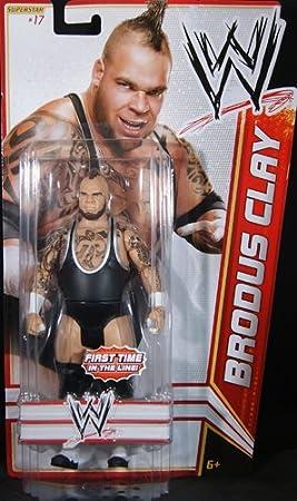 WWE Brodus Clay Figure Best of 2012 Mattel