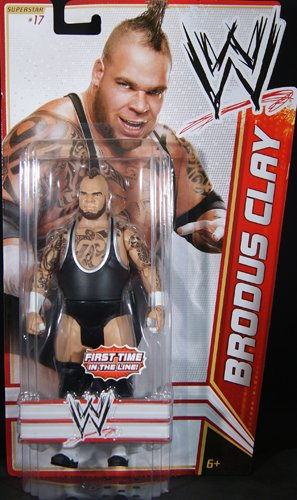 amazon com brodus clay wwe series 15 toy wrestling action figure