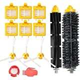 efluky Roomba 700 Series Accessories Kit 6 Filters 3 Side Brushes 1 Bristle Brushes 1 Flexible Beater Brushes 2 Cleaning Tools replacement parts for iRobot Roomba 700 Series 760 770 780 790