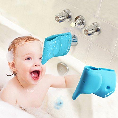 Baby Blue Bathroom Set: Bathtub Faucet Cover For Kid