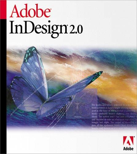 Adobe InDesign CS5 OLD VERSION