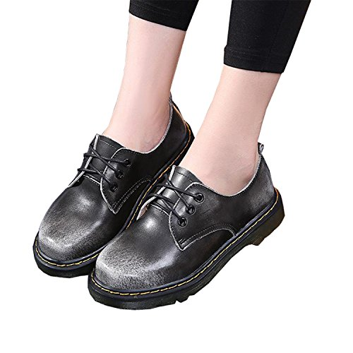 Leather Unisex Gray 46 Boots Boots Casual 35 Shoes Genuine Shoes Men Black Plus 10 Mens Men Safety 2018 Men Dr Work Martins Size 1wIRxr1