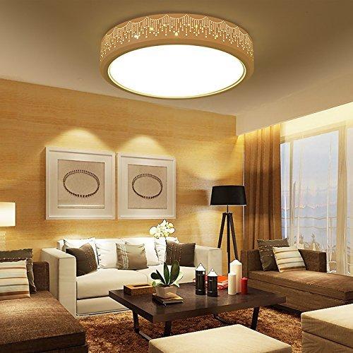 Deckenleuchten Leuchte Deckenleuchte LED für Schlafzimmer Küche Flur Wohnzimmer Badezimmer Esszimmer runden 42 cm - warmes Licht