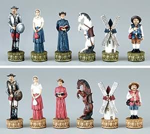 """Fame Don Quixote 3.25"""" Chessmen"""