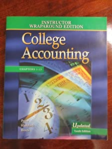 Paperback College Accounting 10th: Instructor Wraparound Edition Chap 1-13 Book