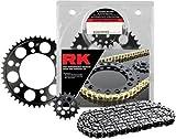 RK Racing Chain 4067-030W Steel Rear Sprocket and 530XSOZ1 Chain 20,000 Mile Warranty Kit