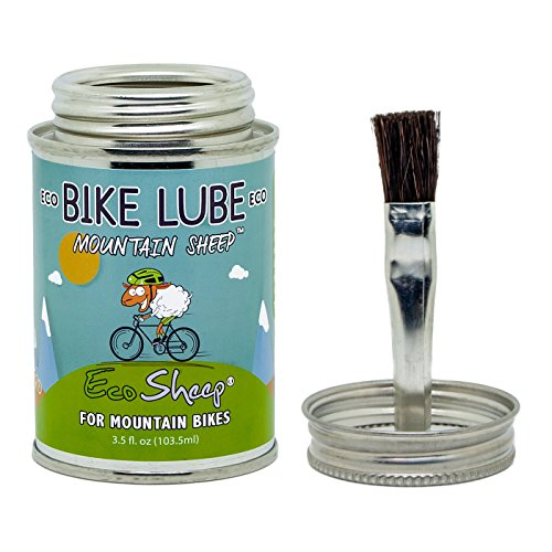 Eco Sheep MOUNTAIN SHEEP – Sheep Oil Based, Eco friendly Bike Chain Oil for Mountain Bikes No Petroleum EPA Safer Choice and USDA BioPreferred Approved Chain Lube