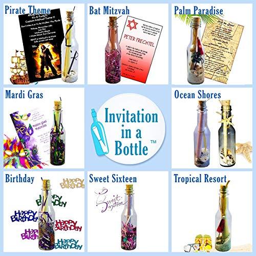 20 botellas de plástico & Tapón de Corcho para mensaje en una botella invitaciones: Amazon.es: Salud y cuidado personal