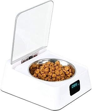 WLDOCA Comedero automático para Gatos con Sensor de Infrarrojos ...