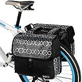 Bicycle Panniers Rack Bike Rear Seat Bag Cycling Saddle Bag Bike Travel 28l...