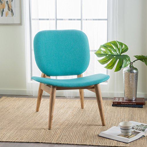 Owen Teal Fabric Accent Chair