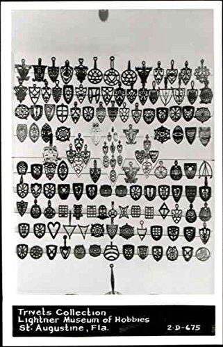 Collection Trivet - Trivets Collection St. Augustine, Florida Original Vintage Postcard