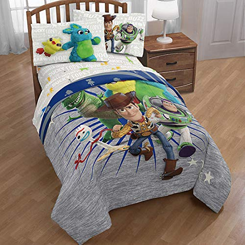 (Disney Toy Story Woody & Friends: Boys Kids Twin Comforter & Sheets (6 Piece Bed in A Bag) + Homemade Wax Melts)