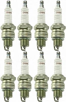 Champion l87y-8pk Copper Plus Small Engine Spark Plug # 312 (8 unidades)
