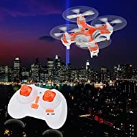 LightInTheBox Nano Pocket Drone with Camera Cheerson CX-10C CX10C Mini 2.4G 4CH 6 Axis RC Quadcopter RTF MODE2