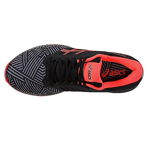 FuzeX Asics Black Orange 5 Running UK Shoes Ladies AW16 qH6g1zq