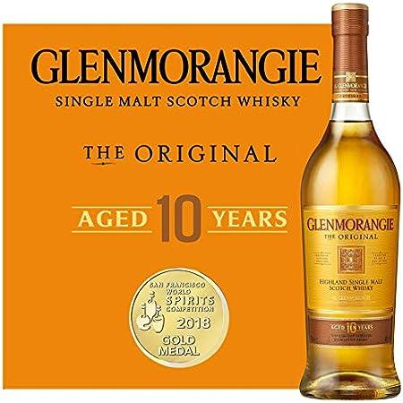 Glenmorangie Glenmorangie THE ORIGINAL 10 Years Old Highland Single Malt Scotch Whisky 40% Vol. 0,35l in Giftbox - 350 ml