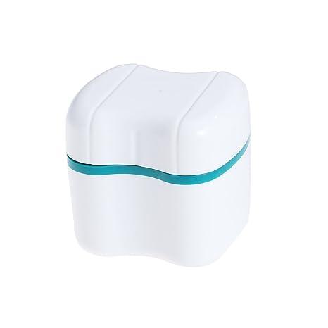 Buy SUPVOX Denture Bath Box False Teeth Storage Container