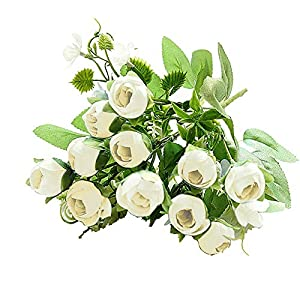 Flower Supply - 1pc Artificial Flower Simulation Magnolia Diy Party Home Wedding Holiday Decor Fashion - Flowers Dried Artificial Artificial Dried Flowers Orchid White Blue Flower Magnolia Flat 72