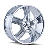 DIP Boost D69 Wheel with Chrome Finish (18x7.5''/10x108mm)