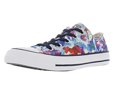 0c2cda442f4b Converse Womens Chuck Taylor All Star Spray Paint Blue Plastic Pink White 5  B