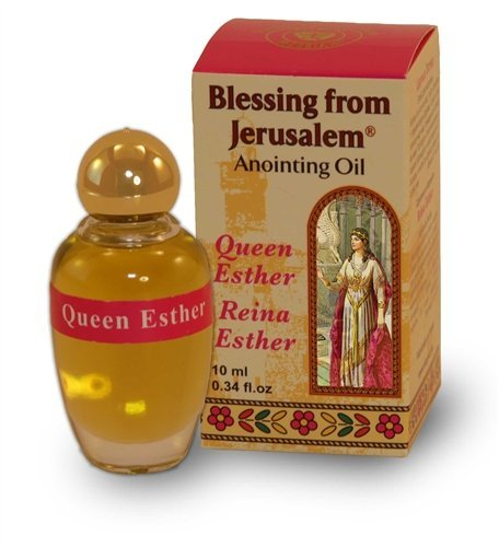 (Anointing Oil with Biblical Spices from Jerusalem 0.34oz (10ml) (Queen Esther))