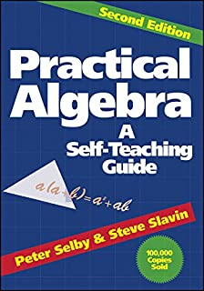 Amazon all the math youll ever need a self teaching guide practical algebra a self teaching guide second edition fandeluxe Images