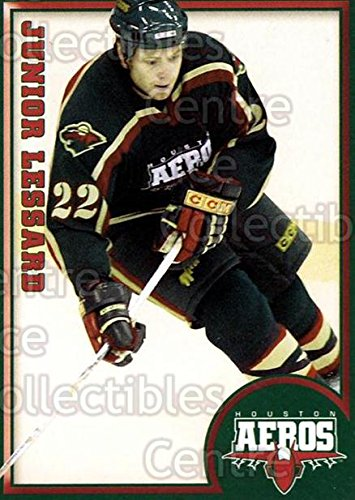 (CI) Junior Lessard Hockey Card 2004-05 Houston Aeros 12 Junior Lessard