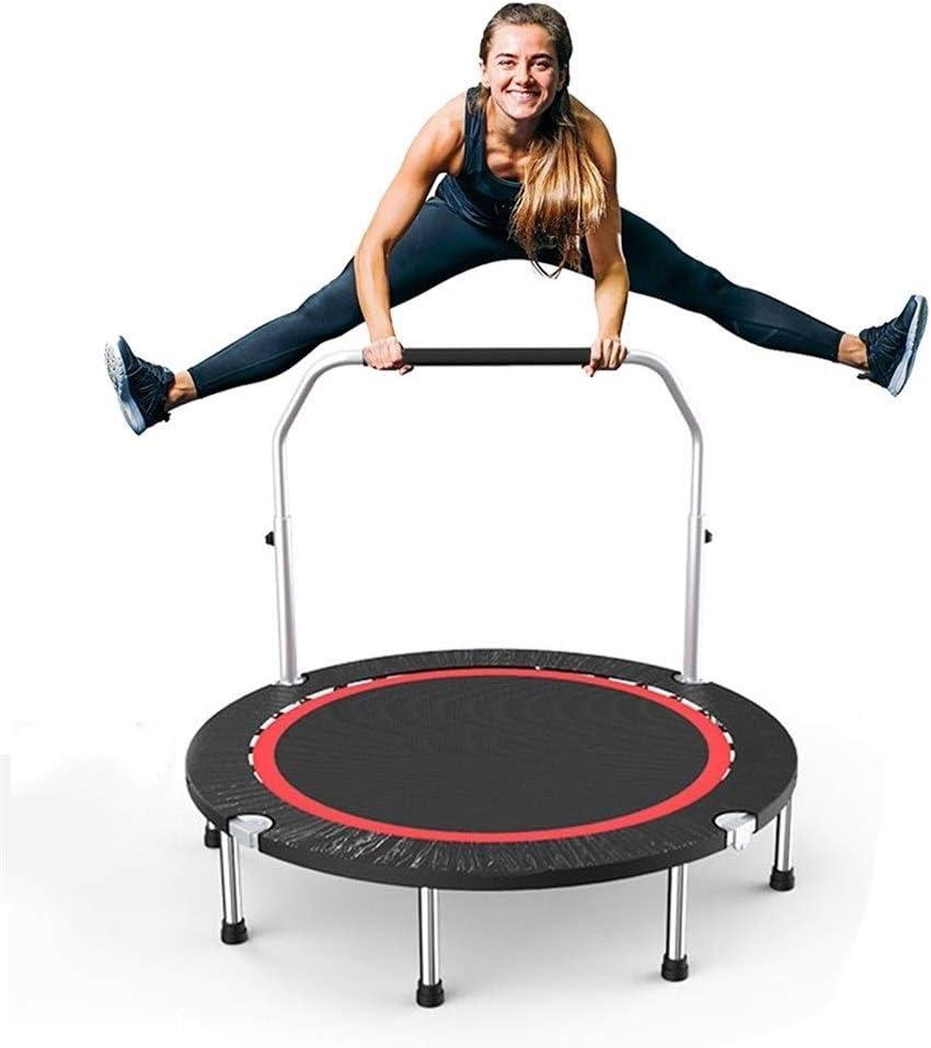 Qazxc Trampolin Fitness, 40inch 100x22cm Herramientas trampolín Plegable de Saltos Deporte Ejercicio de la Aptitud con la manija for Adultos de los niños de la Carga máxima de 150 kg