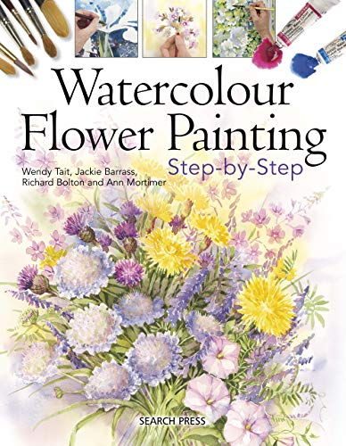 Ann Flower - Watercolour Flower Painting Step-by-step