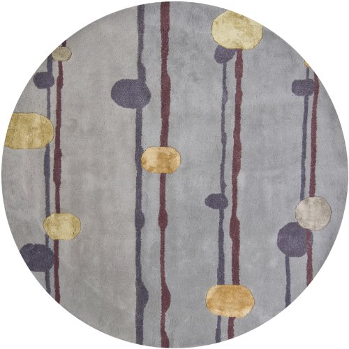 Chandra Lost Link LOS1809-79RD 7-Feet 9-Inch Round Area Rug (Chandra Lost Link)