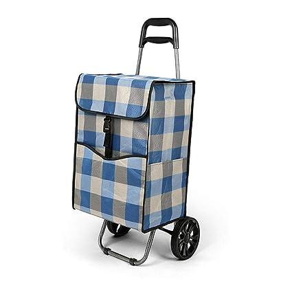 Daeou carritos de la Compra Antiguo Edificio Escalada Hombre Carretilla Carretilla de la Mano Portable del